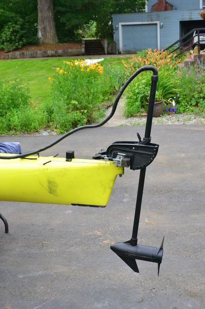 Trolling motor for a kayak for the home pinterest for Fishing kayak with trolling motor