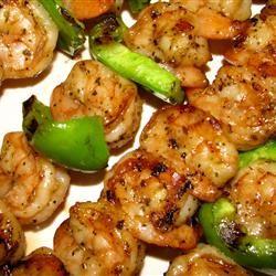 Grilled Garlic and Herb Shrimp | Yummy Food | Pinterest