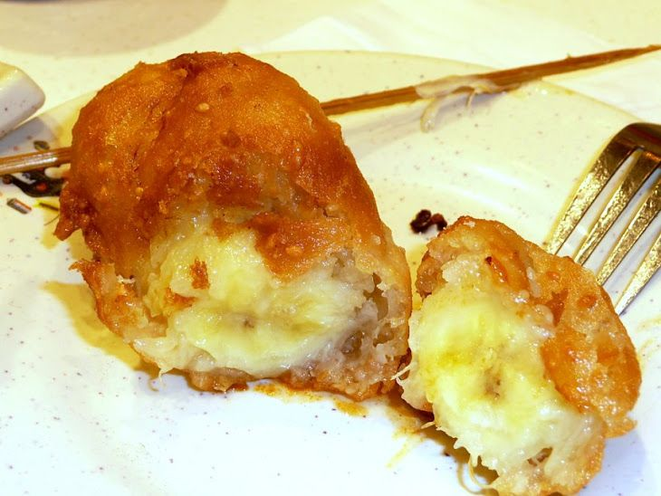 Grand Marnier Deep-Fried Bananas | Savoury KITCHEN Stories | Pinterest