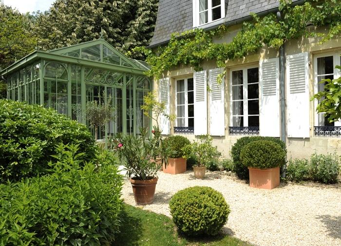 Veranda en acier style victorien jardins d 39 hiver pinterest - Jardin d hiver veranda ...
