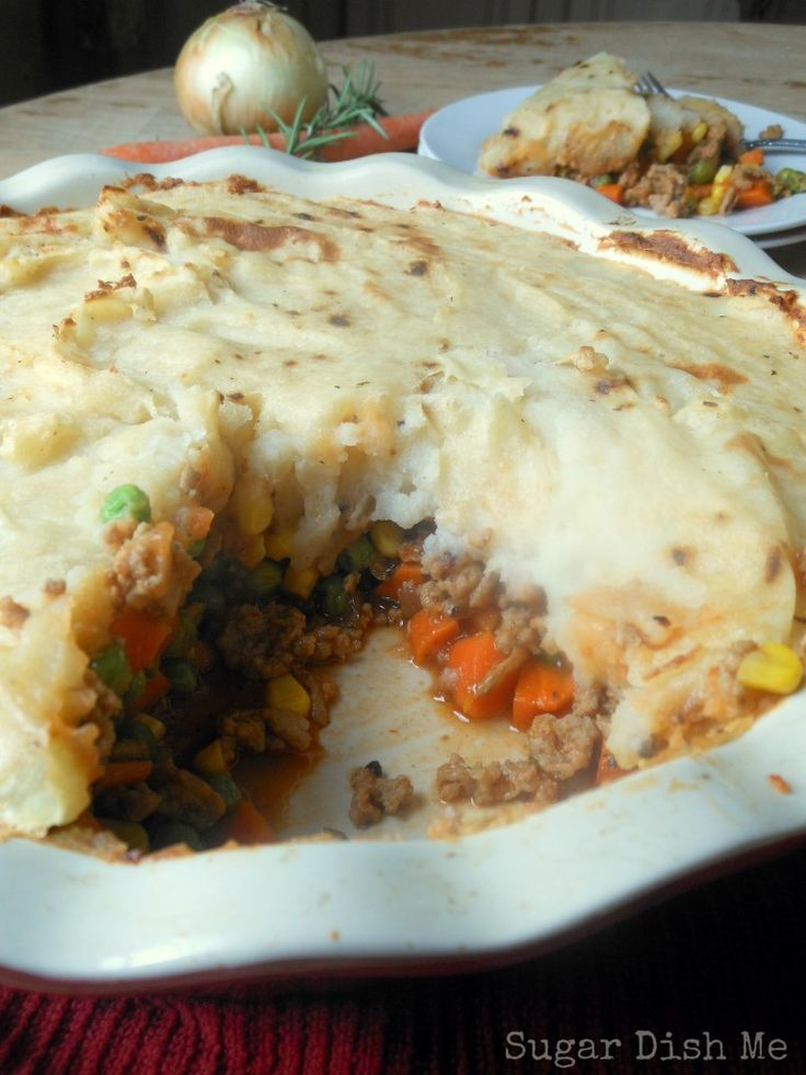 Lightened Up Sheherd's Pie Just like the WW one its yummy only thing ...