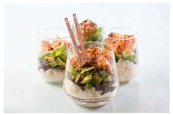 Quick and Easy Recipes - Sushi Salad | Healthy eating | Pinterest