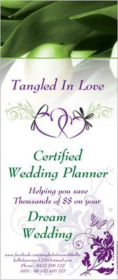 wedding planner thesis