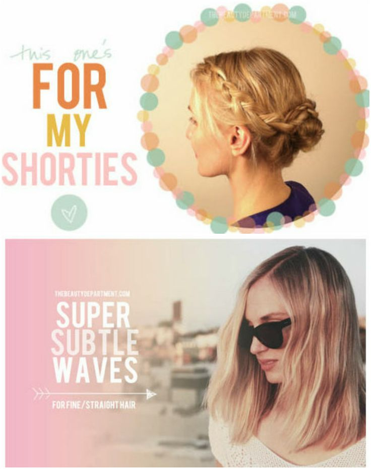 cosmicshift ♥: DIY: Short Hairstyles | Hair Style Obsessions