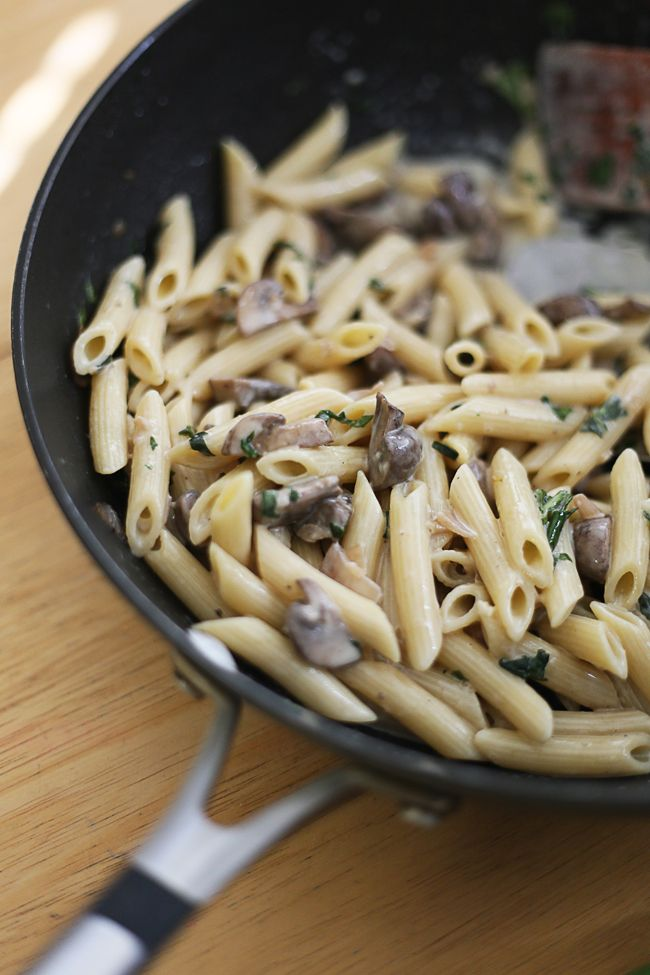 Penne in Mascarpone Cheese Sauce   Pink Pumps + Pasta   Pinterest