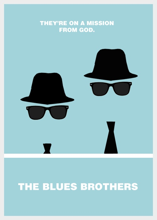 The Blues Brothers - Minimal posters : minimal poster ...
