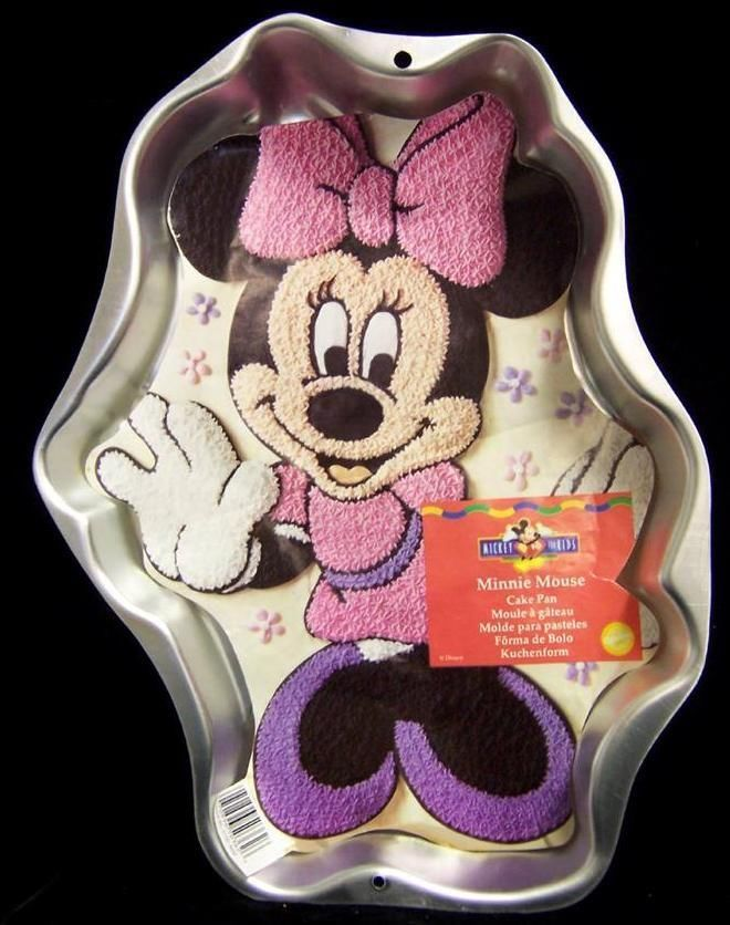 Wilton Minnie Mouse Cake Pan Instructions