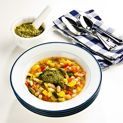 Soupe au Pistou — Pesto Is the Classic Garnish for this French ...