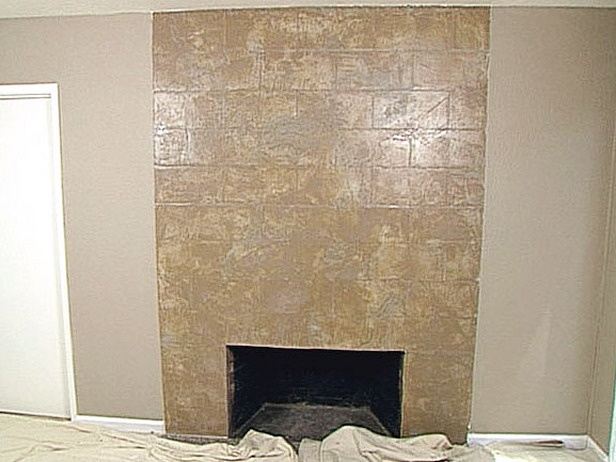 How to add Plaster to a Fireplace Wall