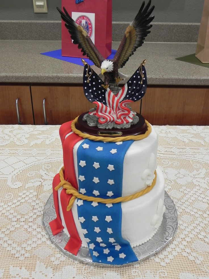 Cake Ideas For Boy Scouts : Boy Scout Cake Boy Scout Eagle Ceremony Pinterest