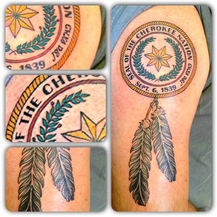 Traditional Cherokee Tattoos