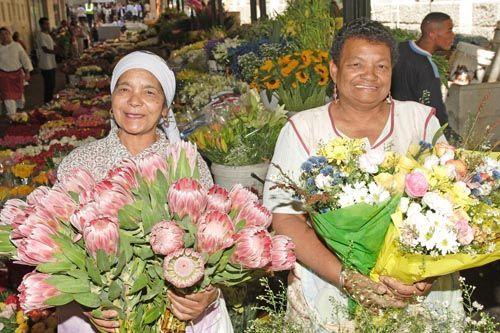 The flower sellers of Adderley Street