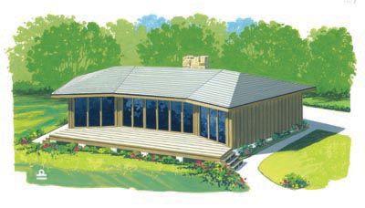 Simple Lake House Dream Cabin Pinterest