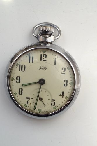 how to open a smiths pocket watch