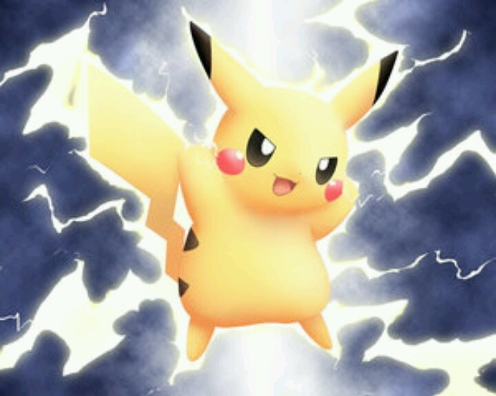 Pikachu lightning bolt