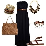 boho chic look for summer.