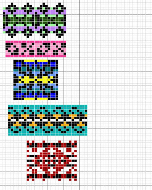 fair isle pattern chart pictures/pattern Pinterest