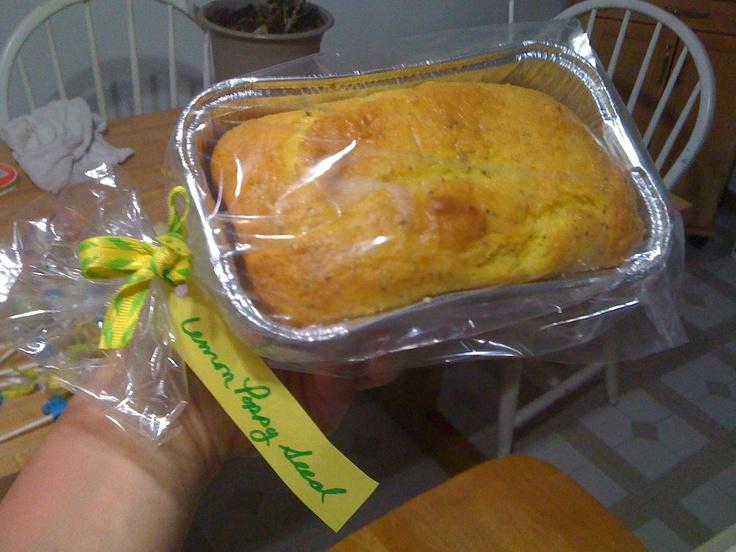 Lemon Poppy Seed Cake Pinterest
