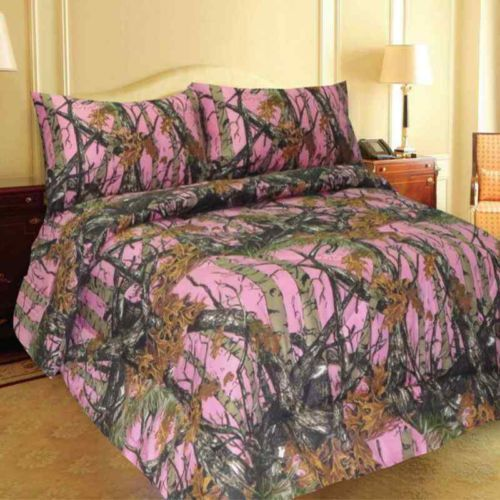 Castlecreek Next Camo Pink Bedding Set