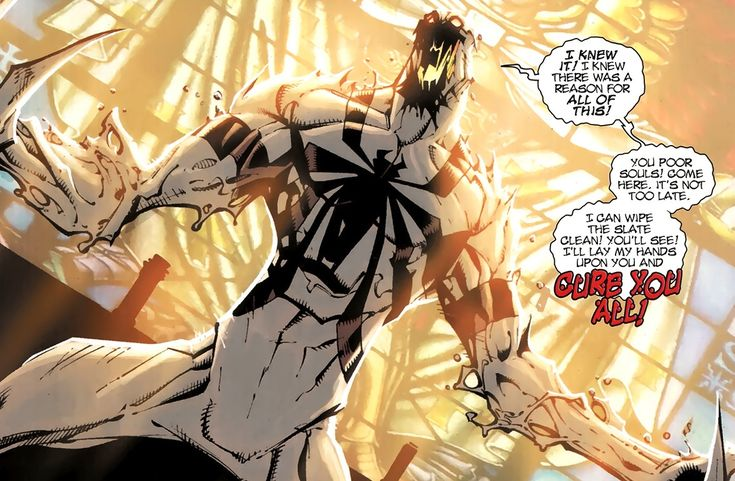 Anti-venom (Symbiote) | Comics | Pinterest