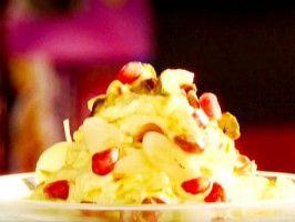Sweet Saffron Yogurt: Shrikand from CookingChannelTV.com