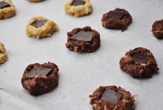 chocolate coconut mud puddles | Cookies | Pinterest
