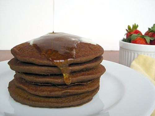 Pancakes I have to try. (I love buckwheat pancakes with maple syrup!)