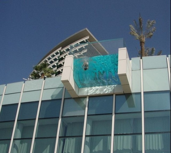Unique swimming pools dubai hotel photography pinterest for Unusual hotels in dubai