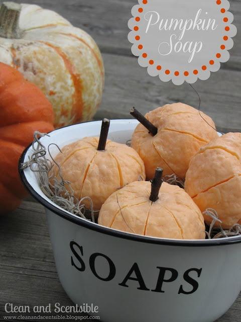 Clean & Scentsible: Pumpkin Soap