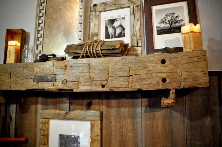 Barn Beam Mantel Want Wood Ideas Pinterest