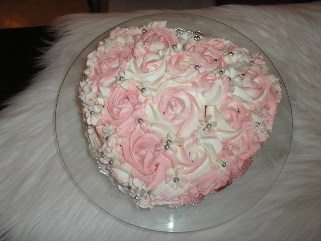 Birthday cake for my mother-in-law !  My Special homemade desserts ...