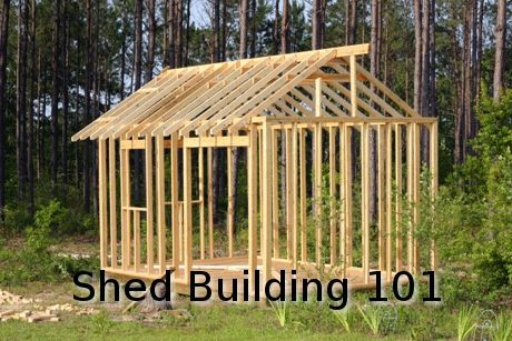 Learn how to build your own shed cheap! don't forget the 4/5/6 rule