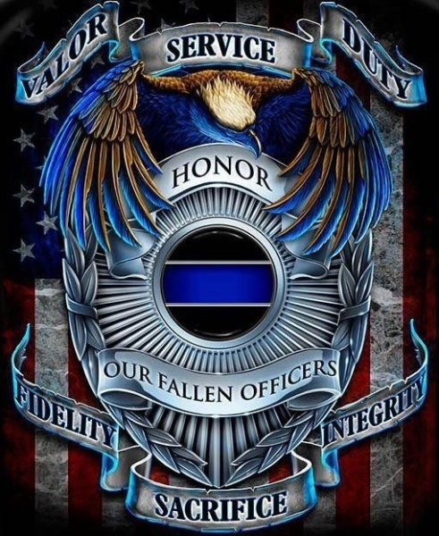 Fallen Police Officer Symbol fallen police officer quotes quotesgram