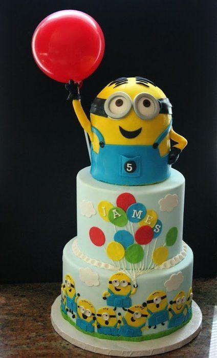 Minon Dave Birthday Cake