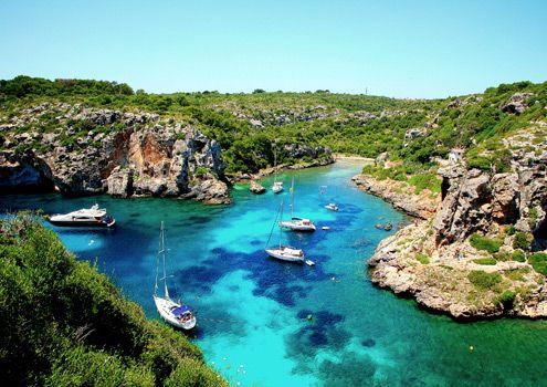 Menorca Island Spain