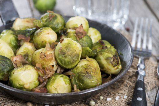 Pancetta Roasted Brussels Sprouts | Food! | Pinterest