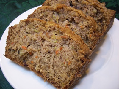 ... by Four: New Hampshire Fall Weekend & Zucchini Carrot Nut Bread