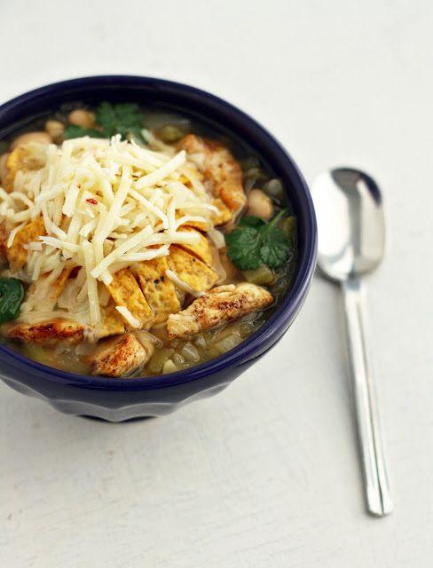 white bean chicken chili | Yumm-O | Pinterest