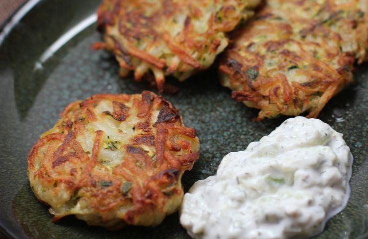 Zucchini and Potato Latkes | The New Soul Food | Pinterest