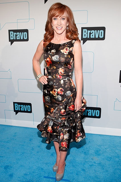 "Say what you will about the ""D List"" comedian, but nobody can knock Kathy Griffin's effort when it comes to the red carpet."