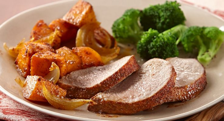 Easy Roasted Pork Tenderloin & Sweet Potatoes | Recipe