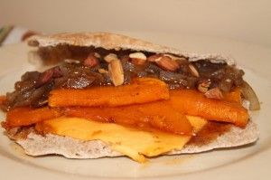 Maple Butternut Squash & Balsamic Caramelized Onion Sandwich + the ...