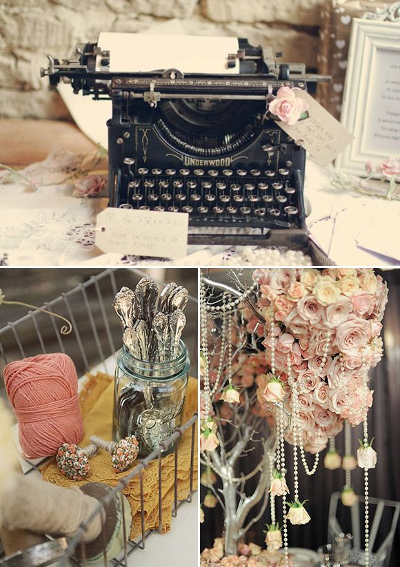 Bodas Decoracion Vintage ~ Decoraci?n vintage para bodas  quincea?eros  Pinterest