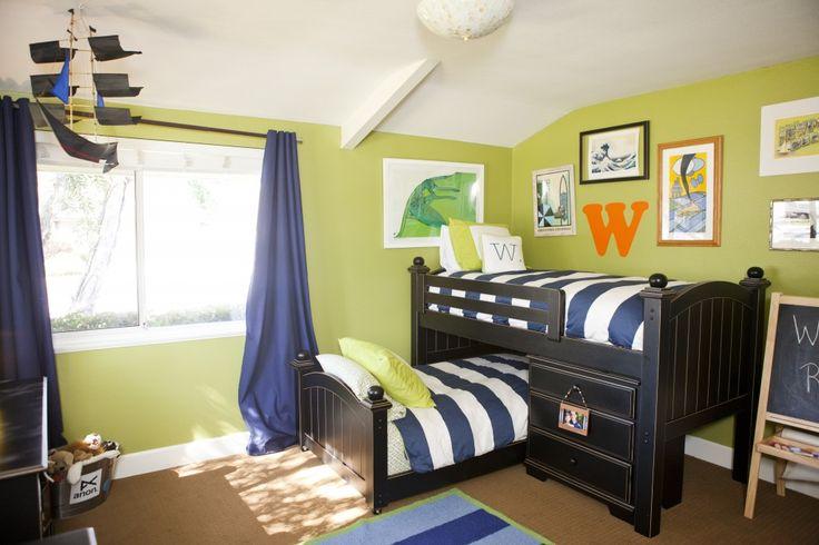 Bunk beds in shared boys room - #bigboyroom