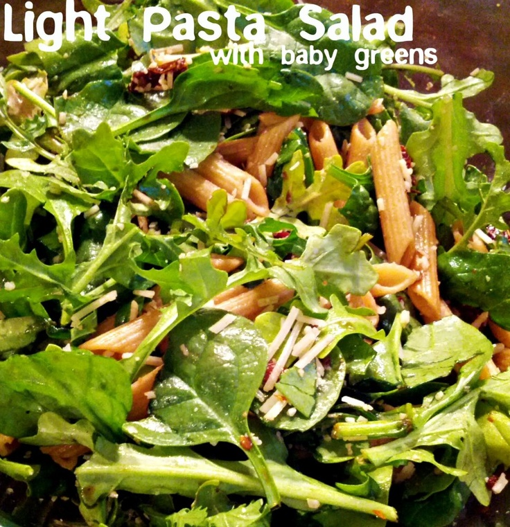 with baby greens recipe yummly summer pasta salad with baby greens
