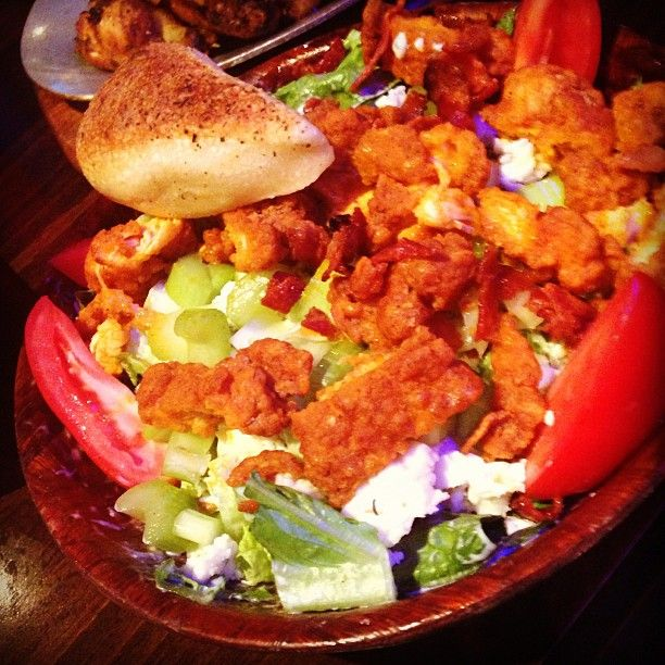 Have you tried our Buffalo Chicken Salad? Made with crisp romaine ...
