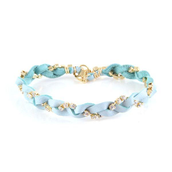 Glimmer sky braid bracelet ettika boho jewelry gypsy hippie