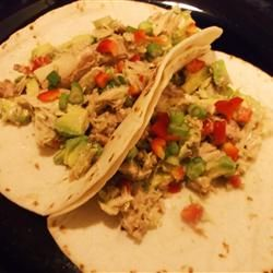 From allrecipes.com, avocado and tuna tapas from La Cocina de Redonita ...