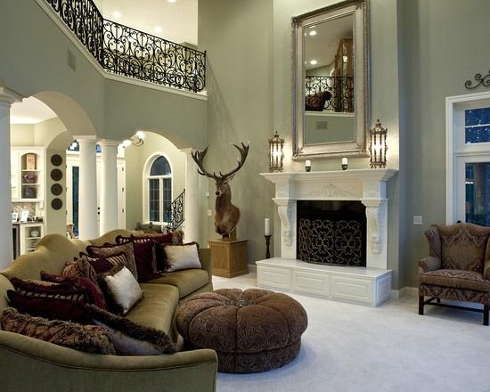 Mediterranean Living Rooms
