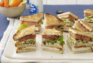 Buffalo Club Sandwiches | Recipes | Pinterest